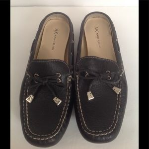 Anne Klein low back driving loafers